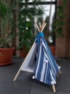 Tipi FOLK blue